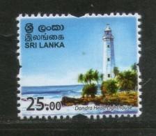 Sri Lanka 2017 Dondra Head Lighthouse Personalized Definitives 1v MNH # 2545 - Lighthouses