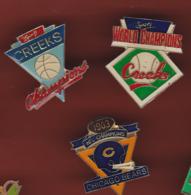 59563-lot De 3 Pin's.National Football League - Baseball