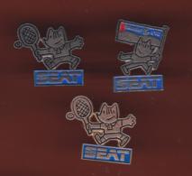 59566-lot De 3 Pin's.Seat.jeux Olympiques. - Jeux Olympiques