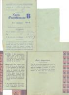 Guerre 40/45 - Communes De  TOHOGNE, VERLAINE ( Hamoir)  6 Cartes D'habillement B Pour Femmes (b258) - 1939-45