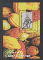 L673. S.Tome E Principe - MNH - 2010 - Nature - Plants - Fruits - Cacao - Bl - Stamps