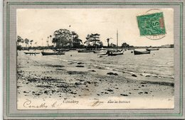 CPA - GUINEE FRANCAISE - CONAKRY - KONAKRY - Aspect De La Plage De L'Anse De Bulbineh En 1906 - Guinea Francese