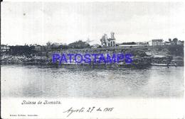 117740 PARAGUAY HUMAITA RUINS RUINAS YEAR 1905 POSTAL POSTCARD - Paraguay