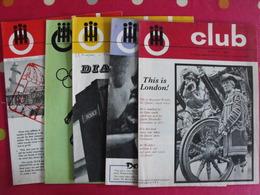 Lot De 6 Revues En Anglais. Club. Films, Jeux. 1967 - Langue Anglaise/ Grammaire