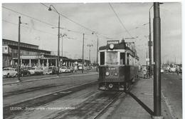 Leiden Blauwe Tram Tramway Strassenbahn Trolley Station Gare Bahnhof NZH 1963 - Leiden