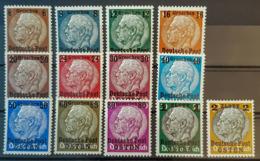 DEUTSCHES REICH 1939 - MNH/MLH -Mi 1-13 - Deutsche Post Osten - Gouvernement Général