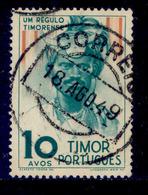 ! ! Timor - 1948 Natives 10 A - Af. 265 - Used - Timor