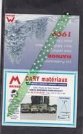 Kalender, Calendre,Matnor, Bary Matériaux, Fresnes-sur-Escaut, 1999 - Calendriers