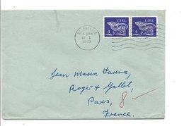 IRLANDE EIRE AFFRANCHISSEMENT COMPOSE SUR LETTRE POUR LA FRANCE 1973 - Covers & Documents
