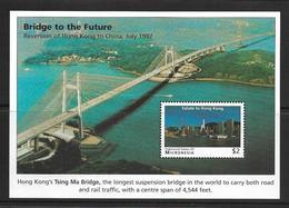 MICRONESIE 1997 PONT DE HONG-KONG  YVERT N°B27 NEUF MNH** - Bridges