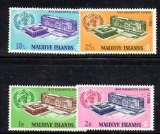 APR2162 - MALDIVE 1968 , Serie  Yvert N. 266/269  ***  MNH  (2380A) . Oms - Maldive (1965-...)