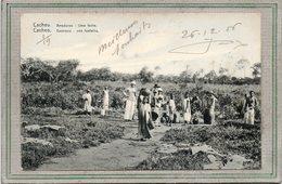 CPA - GUINEE PORTUGAISE - CACHEU - CACHEO - Aspect De La Fontaine En 1906 - Uma Fonte - Guinea-Bissau