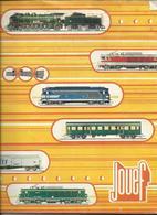 Catalogue JOUEF Collection 1974 (Trains, Accéssoires, Circuits Routiers) - Livres Et Magazines