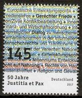 Bund MiNr. 3339 ** 50 Jahre Deutsche Kommission Justitia Et Pax - Ongebruikt