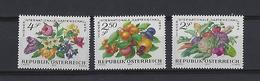 Autriche:  1274/1276 **  Expo. D'horticulture à Vienne - 1945-.... 2ème République