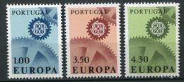 14187 PORTUGAL  N° 1007/9 **  Série  Europa  1967   TB - 1910-... République