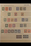 POSTAGE DUES - FOREIGN COUNTRIES A Spectacular Collection Of Chiefly Mint Postage Due Stamps Spanning Issues From The 18 - Unclassified
