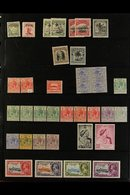 BRITISH PACIFIC SMALLER ISLANDS 1870's-1980's ATTRACTIVE RANGES On Stock Pages In An Album, Fine Mint (some Never Hinged - Stamps