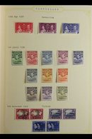 """BRITISH COMMONWEALTH""""B"""" COUNTRIES. 1930's - 1980's UNPICKED MINT / NHM / USED COLLECTION Presented In A Pair Of Stanley - Timbres"""