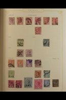 """BRITISH COMMONWEALTH""""C"""" COUNTRIES. 1850's - 1980's UNPICKED MINT / NHM / USED COLLECTION Presented In A Stanley Gibbons - Stamps"""