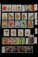 FUNGI ON STAMPS - AUSTRALASIA, OCEANIA A Beautiful Collection Of Mushrooms / Fungi On Never Hinged Mint Sets, Miniature  - Postzegels