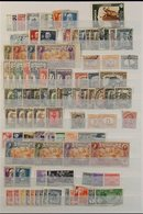 CHEAP WORLD ACCUMULATION IN LARGE CARTON. 19th Century To 1990's Mint & Used Stamps On Various Leaves, In A Stockbook An - Postzegels