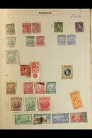 QV - QEII COMMONWEALTH In Two Old Sprinback Albums, Mint & Used Stamps Arranged From Aden, Antigua & Ascension Through T - Stamps