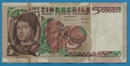 ITALIA 5000 LIRE 01.07.1980Serie VA201257J  P# 105b - [ 2] 1946-… : Republiek