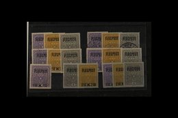 1917-1969 BETTER MIXTURE ON DISPLAY PAGES. An Ex - Dealers Stock In Film Fronted Retail Pages With Mint, Nhm & Used Sets - Austria