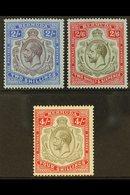 1918-22 2s, 2s6d And 4s, SG 51b, 52, 52b, Fine Mint. (3) For More Images, Please Visit Http://www.sandafayre.com/itemdet - Bermuda