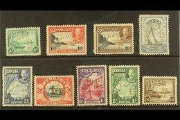 """1936 Geo V Pictorial Set, Perf """"Specimen"""", SG 98s/106s, Very Fine Mint, Large Part Og. (9 Stamps) For More Images, Pleas - Bermuda"""