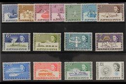 1963 Definitives Original Complete Set, SG 1/15, Superb Never Hinged Mint. (15 Stamps) For More Images, Please Visit Htt - British Antarctic Territory  (BAT)
