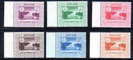 APR2163 - MALDIVE 1964 , Serie  Yvert N. 133/138  ***  MNH  (2380A) . - Maldive (1965-...)