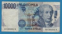 ITALIA 10.000 Lire   Alessandro Volta03.09.1984Serial# AH005892R  P# 112d - [ 2] 1946-… : República
