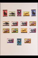 1962-1965 COLLECTION On Leaves, Very Fine Mint (some Never Hinged) Stamps & Mini-sheets, Plus Superb Used Stamps On Unad - Burundi