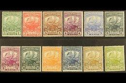 1919 Newfoundland Contingent Set Complete, SG 130/141, Very Fine Mint. (12 Stamps) For More Images, Please Visit Http:// - Newfoundland And Labrador