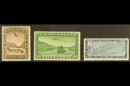 1931 Wmk Air Set, SG 195/97, Fine Mint (3 Stamps) For More Images, Please Visit Http://www.sandafayre.com/itemdetails.as - Newfoundland And Labrador