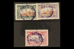 CHEFOO LOCAL POST 1896 Chefoo Harbour Set, SG 11/13, Very Fine Used. (3 Stamps) For More Images, Please Visit Http://www - China