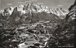 OBER UND UNTERGRAINAU- VIAGGIATA 1960 -REAL PHOTO - Garmisch-Partenkirchen