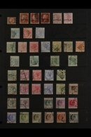 1881-1961 ALL DIFFERENT MINT COLLECTION Strongly Represented Throughout. With (GB Overprinted) 1880 ½d, 1d (3 Plates) An - Cyprus