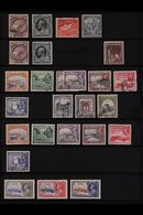 1882-2002 MINT & USED COLLECTION / ACCUMULATION Presented On Stock Pages, We See Small Range Of QV, KEVII & Early KGV Is - Cyprus