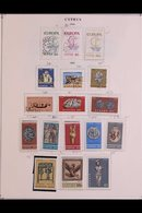 1953-1990 COMPREHENSIVE COLLECTION On Pages, ALL DIFFERENT Fine Mint (mostly Never Hinged) And Used Stamps. Lovely Fresh - Cyprus