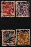 PARCEL POST 1919-20 Set, Mi 1/4, Fine Used. (4 Stamps) For More Images, Please Visit Http://www.sandafayre.com/itemdetai - Unclassified