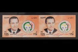 2004 125p Arab Regional Conference, IMPERF PAIR, SG 2355, Never Hinged Mint. For More Images, Please Visit Http://www.sa - Egypt