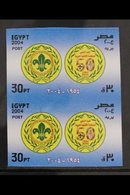 2004 30p Arab Scouting Association, Vertical IMPERF PAIR, SG 2378, Never Hinged Mint. For More Images, Please Visit Http - Egypt