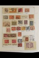 POSTMARKS COLLECTION A Mostly 19th Century To Early 20th Century Assembly Incl Asyut, Cherbin, Ghouria, Abu-el-chouk, Za - Egypt