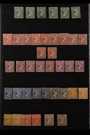 1891 - 1972 MINT ONLY COLLECTION Interesting Collection With Many Complete Sets And Some Duplication For Shades, Pairs,  - Falkland Islands