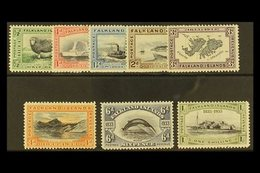 1933 Centenary Set To 1s, SG 127/34, Fine And Fresh Mint. (8 Stamps) For More Images, Please Visit Http://www.sandafayre - Falkland Islands