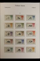 1953-1994 COMPLETE NEVER HINGED MINT COLLECTION. A Beautiful, Complete Collection Of Postal Issue Sets & Miniature Sheet - Falkland Islands