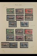 1944-1949 SUPERB MINT COLLECTION In Hingeless Mounts On Leaves, Most Stamps Are Never Hinged. Includes 1944-45 All Four  - Falkland Islands